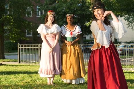 Margaret, Ursula, Beatrice