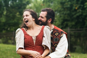 Margaret Kellas (Audrey) and Adam Habben (Touchstone)